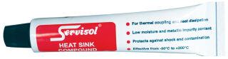 CRC Pâte thermique SERVISOL HEAT SINK COMPOUND, 25 g tube