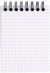 RHODIA Bloc spiralé, format A7, quadrillé 5x5, orange