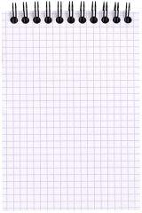 RHODIA Bloc spiralé, format A6, quadrillé 5x5, orange