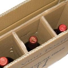 smartboxpro Cartons d'expédition pour 2 bouteilles