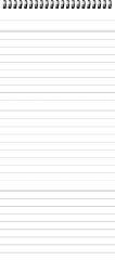 RNK Verlag Bloc-notes, fiches de format A7, ligné, blanc