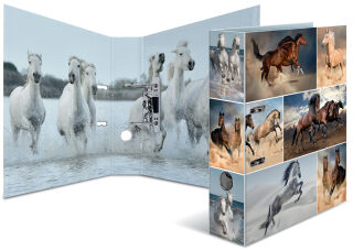 HERMA Classeur à motifs 'Animals', A4, chevaux