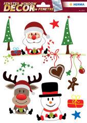 Image pour fenêtre de Noël 'Joyeux Noël' - HERMA