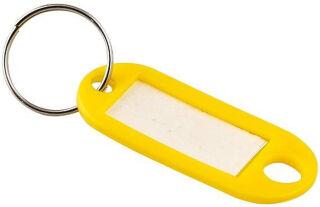 JPC Porte-clés avec anneau, diamètre: 18 mm, assorti