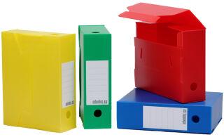extendos Boîtes d'archives, PP, 100 mm, assorti