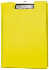 MAUL Porte-bloc, plastifié, A4, jaune