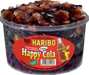 HARBIO Bonbons gélifiés aux fruits HAPPY COLA, boîte de 150