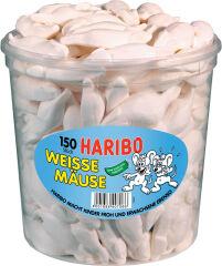 HARIBO Bonbons gélifiés aux fruits SOURIS BLANCHES, 150 pcs