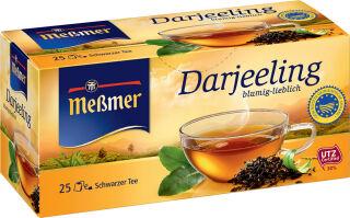 Meßmer Thé noir 'Darjeeling', boîte de 25