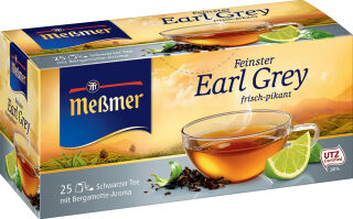 Meßmer Thé noir 'Earl Grey', paquet de 25