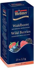 Meßmer Thé aux fruits 'baies sauvages', aromatisé, 25 pièces