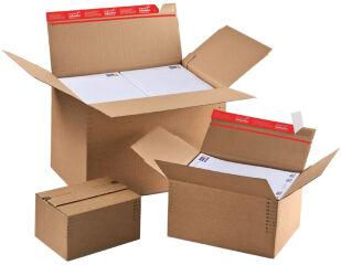 ColomPac Carton fond automatique, fermeture autocollante,A5+