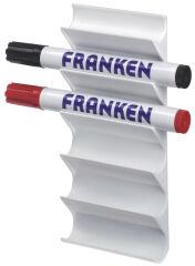 FRANKEN Support de marqueur pour tableau pour 6 marqueurs