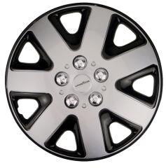 GOODYEAR Enjoliveur de roue 'Flexo', 13' (33,02 cm), argent