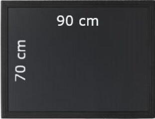 Tableau Ardoise Noir à Craie 90x70 cm UNIVERSAL - Securit