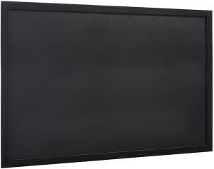 Tableau Ardoise à Craie Noir cadre en bois 60x80 cm WOODY - Securit