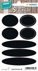 HERMA Etiquettes pour tableau HOME feeling 'ovales'