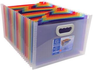 Trieur valisette - 24 compartiments - EXACOMPTA