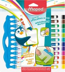 Maped Marqueur pour tableau blanc Marker'Peps Innovation,kit