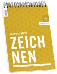 RÖMERTURM Bloc pour artistes 'DESSINER', A4, 50 feuilles