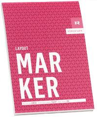 RÖMERTURM Bloc pour artistes 'MARKER', A4, 100 feuilles