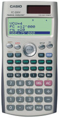 CASIO Calculatrice scientifique FC 200V