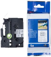 brother FLe-7511 Cassette à ruban, noir / vert