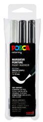 POSCA Marqueur à pigment PCF-350, étui de 3