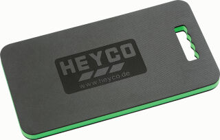HEYCO Panneau protège-genoux, (L)480 mm, noir / vert