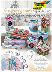 folia Boîtes cadeau 'Petites douceurs emballées', Noel