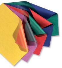 folia Papier cadeau 'Bicolor', sur rouleau, jaune / orange