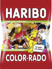 HARIBO Bonbons gélifiés aux fruits COLOR-RADO, sachet 200 g