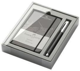 FABER-CASTELL Kit d'outils d'écriture Ambition résine, noir