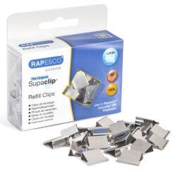 RAPESCO Clips à documents Supaclip 60, 100 pièces,