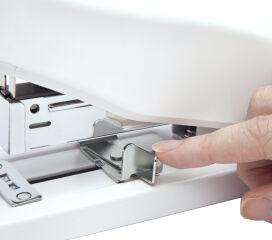 RAPESCO Agrafeuse grande capacité ECO HD-100, blanc soft