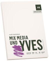 RÖMERTURM Bloc pour artistes 'MIX MEDIA ET YVES', A5