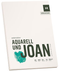 RÖMERTURM Bloc d'artiste 'AQUARELL UND JOAN', 170 x 240 mm