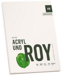 RÖMERTURM Bloc d'artiste 'ACRYL UND ROY', 420 x 560 mm