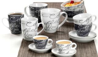 Ritzenhoff & Breker Tasse à café jumbo 'CORNELLO GREY'