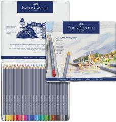 FABER-CASTELL Crayons de couleur aquarellables GOLDFABER