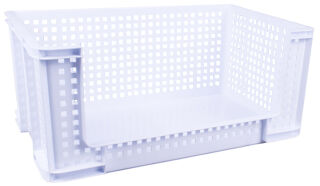 Really Useful Box Bac de rangement 64 litres, blanc