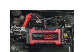 ABSAAR Chargeur de batterie pour voiture EVO 8.0, 8A, 12/24V