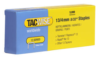 TACWISE Agrafes 13/8 mm, fin, galvanisé