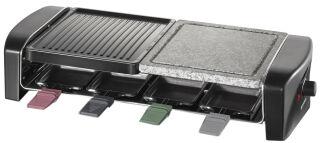 SEVERIN Raclette-grill RG 9645, pierre de cuisson naturelle