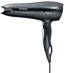SEVERIN Sèche-cheveux HT 0140, 1900 Watt, noir / métallique