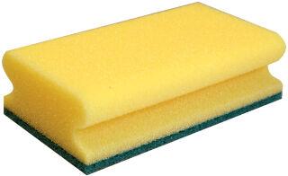 HYGOCLEAN Eponge de nettoyage CLASSIC, 150 x 95 mm, jaune