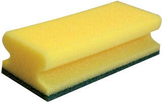 HYGOCLEAN Eponge de nettoyage CLASSIC, 150 x 70 mm, jaune