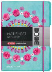 herlitz Carnet de notes my.book flex Flowers, A5, PP