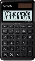 CASIO Calculatrice SL-1000 SC-GY, alimentation solaire/pile