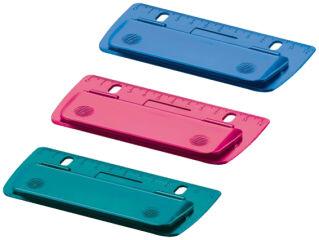 herlitz Perforateur de poche Color-Blocking, capacité